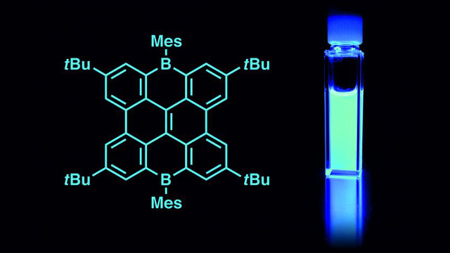 Goethe University - Luminescent blue boron-containing nanographenes