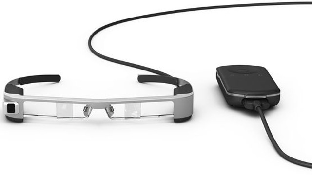Epson - OLED Binocular See-Through Smart Glasses