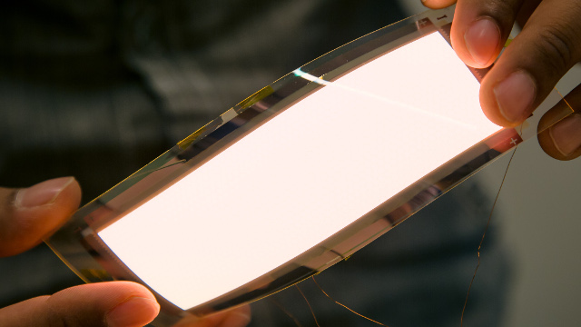 Pi-Scale Consortium - Flexible OLED display