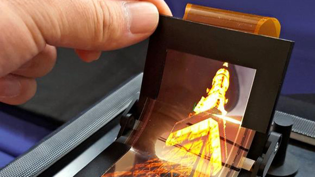 Sharp - Flexible OLED display panel