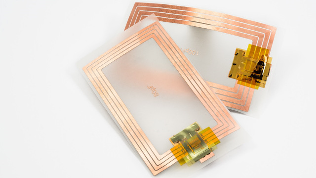 imec / Holst Centre / Cartamundi - Printed thin-film transistors on a plastic substrate compatible with NFC barcode protocol