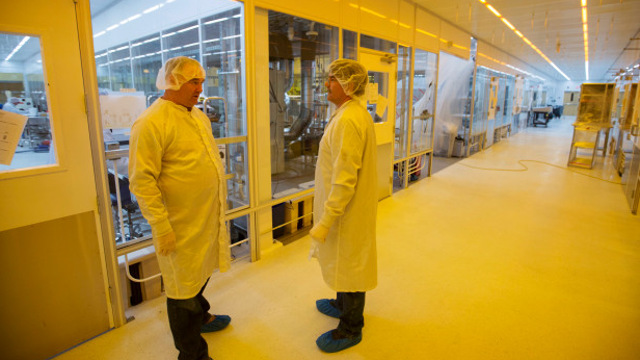 Thin Film Electronics - Clean rooms at Thinfilm's facility in San Jose, Calif