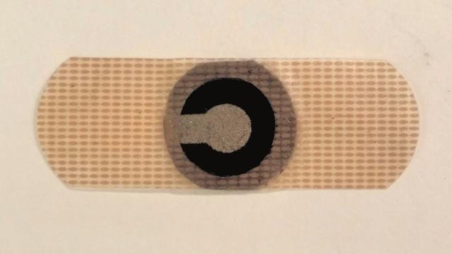 Binghampton - New self-powered paper patch could help diabetics measure glucose during exercise