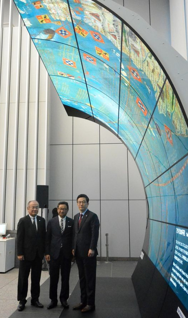 JR Kyushu Agency - Large OLED billboard to be installed at Hakata Station