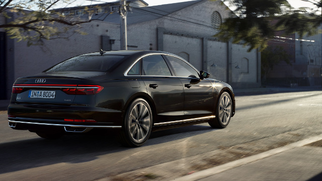 Hella - OLED taillights in Audi A8